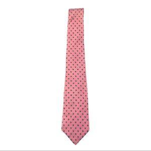 VTG Neiman Marcus Pink & Blue Diamond Tie 1169
